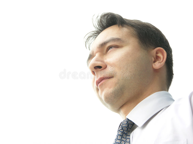 Denkender Mann stockfotos