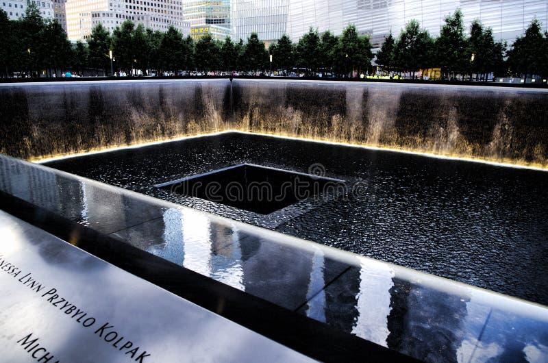 9/11 Denkmal lizenzfreies stockfoto