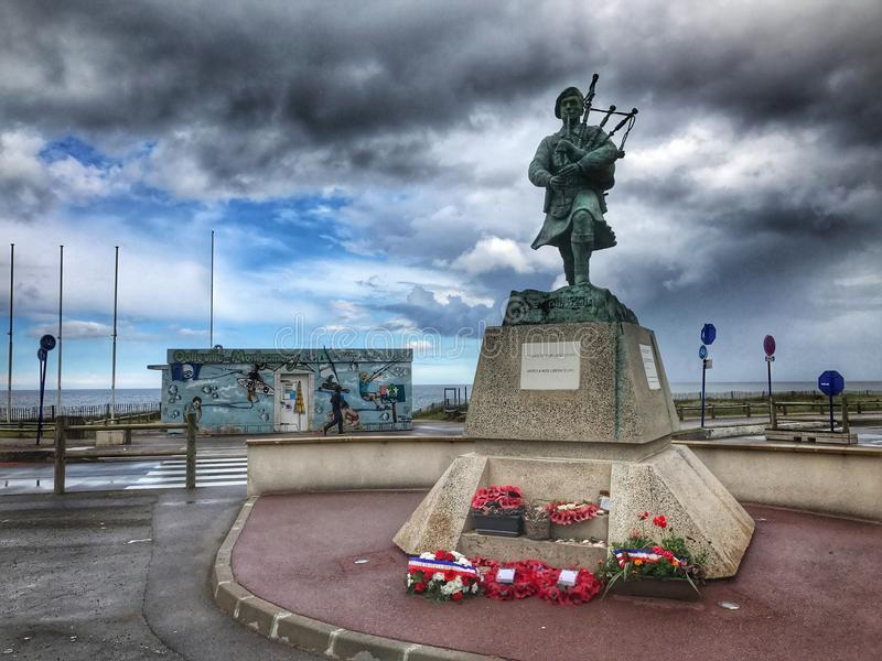 Denkmal in der Stadt lizenzfreies stockbild