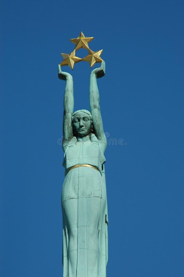 Denkmal des Freiheitsfragments lizenzfreies stockbild