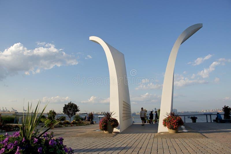 Denkmal des Staten- Island9/11, New York stockfotos
