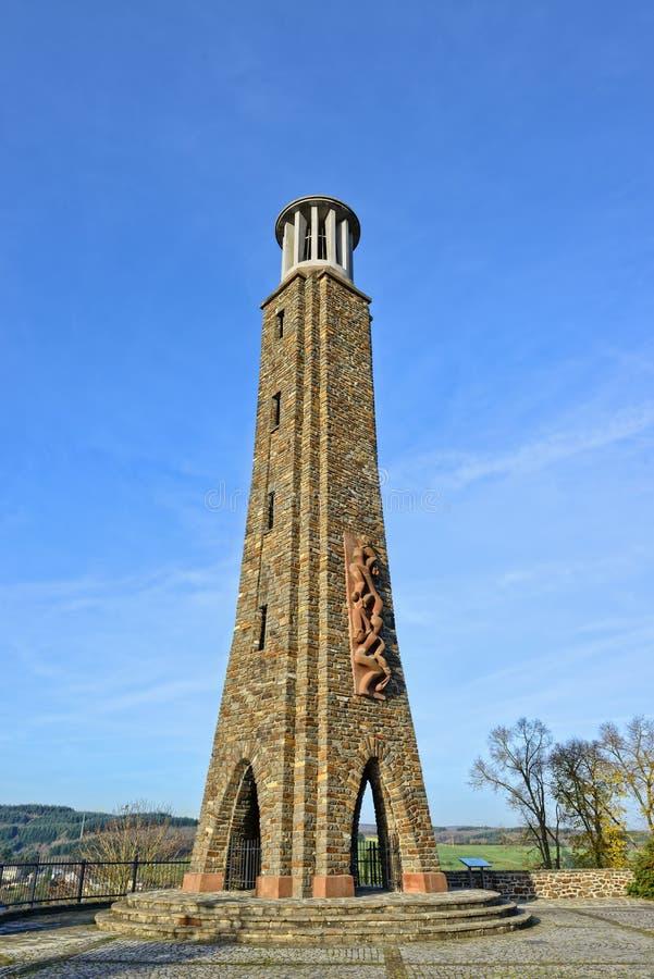 Denkmal des Streiks in Wiltz lizenzfreies stockfoto