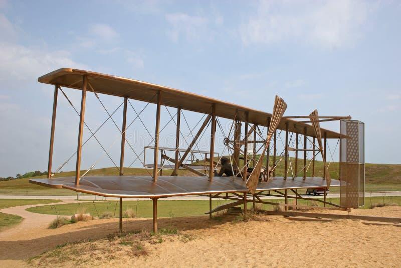 Denkmal des Wright-Bruders lizenzfreie stockbilder