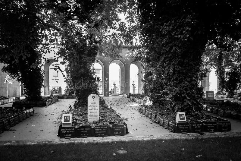 Denkmal entsteint jüdischen Kirchhof stockfotografie