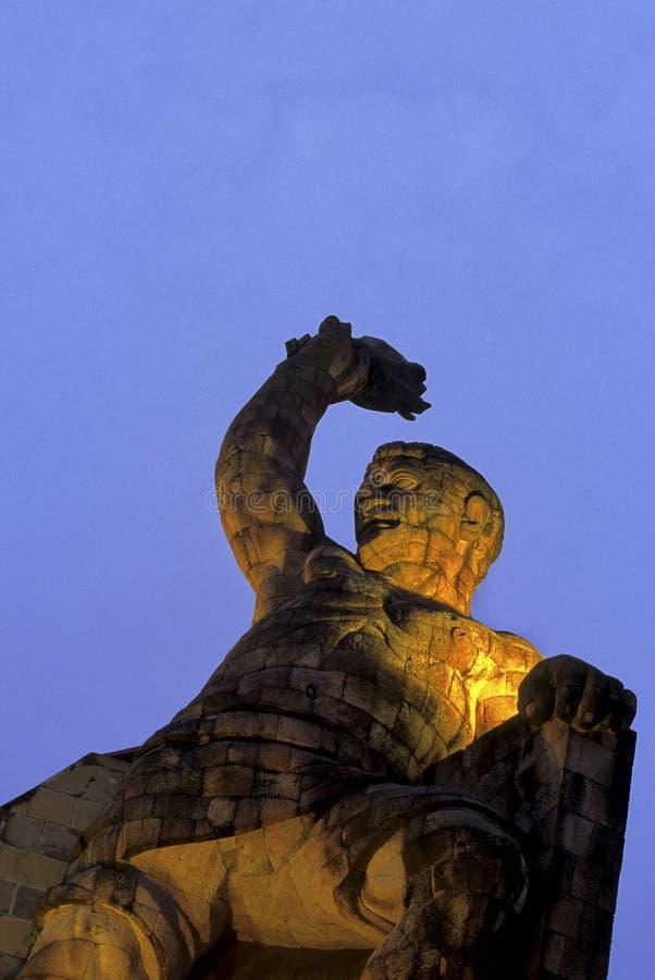 Denkmal Guanajuato, Mexiko stockbilder