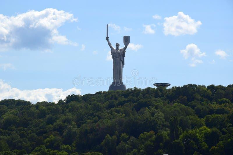 Denkmal in Kiew stockfoto