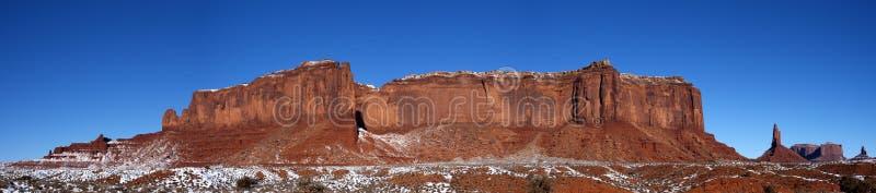 Denkmal-Tal-Panorama Ridge, Berge, Schnee stockfotografie
