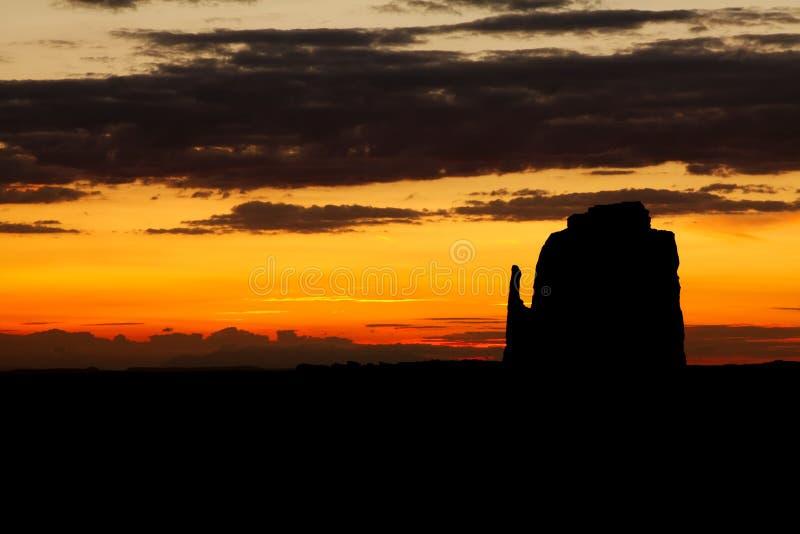 Denkmal-Tal-Sonnenaufgang stockbild