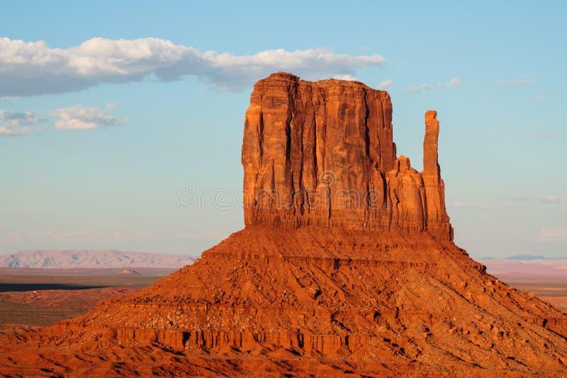 Denkmal-Tal-Stammes- Park, Navajo-Nation, Arizona und Utah, USA lizenzfreie stockbilder