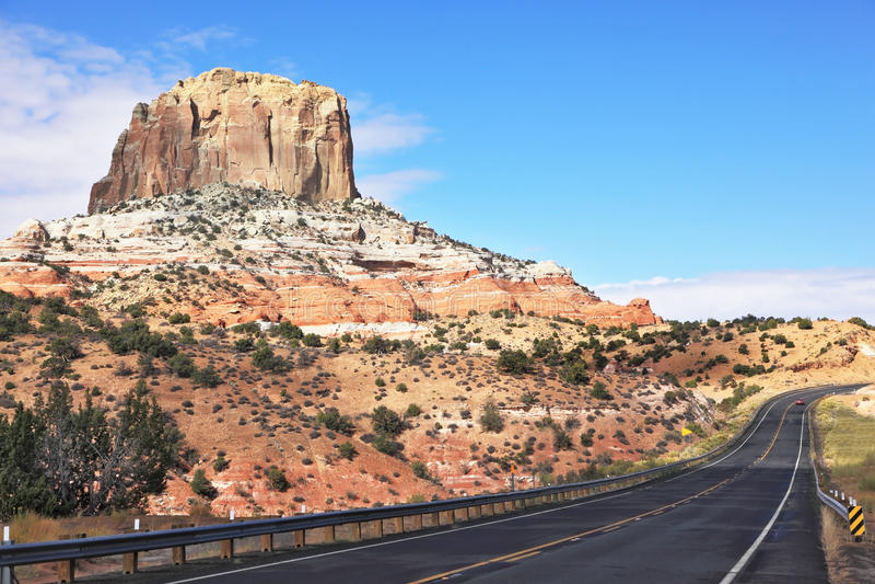 Download Denkmal-Tal in Utah stockbild. Bild von blau, perspektive - 26354311