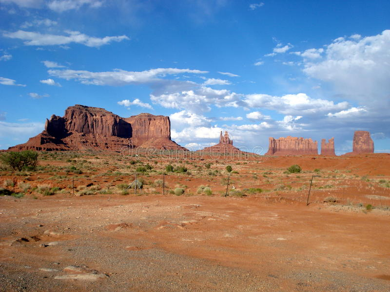 Denkmal-Tal, Utah lizenzfreies stockbild