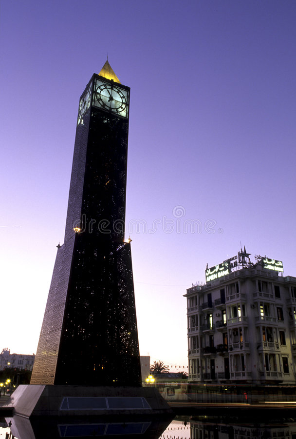 Denkmal Tunesien stockfotografie