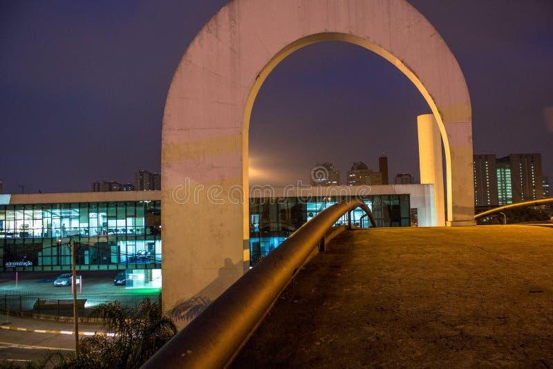 Denkmal von Latein-Amerika stockfoto