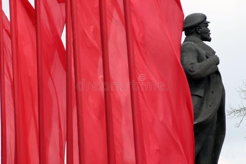 Denkmal von Lenin lizenzfreie stockfotografie