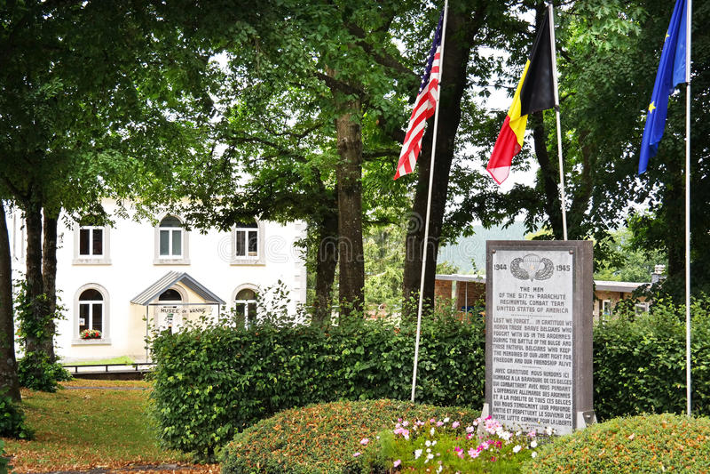 Denkmal in Wanne lizenzfreie stockfotos