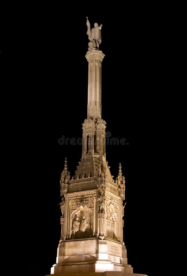 Denkmal zu Christopher Columbus stockfotos