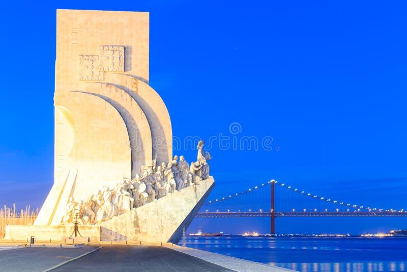 Denkmal zu den Entdeckungen, Lissabon, Portugal stockfoto