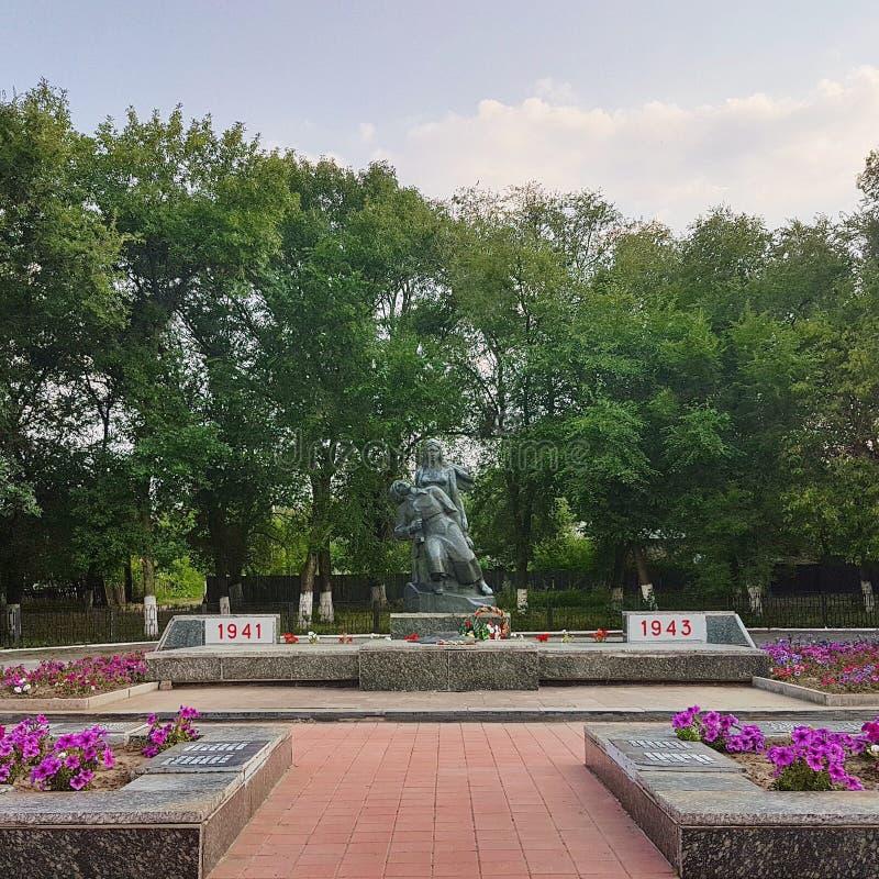 Denkmal zu den Soldaten der Befreier stockfotos