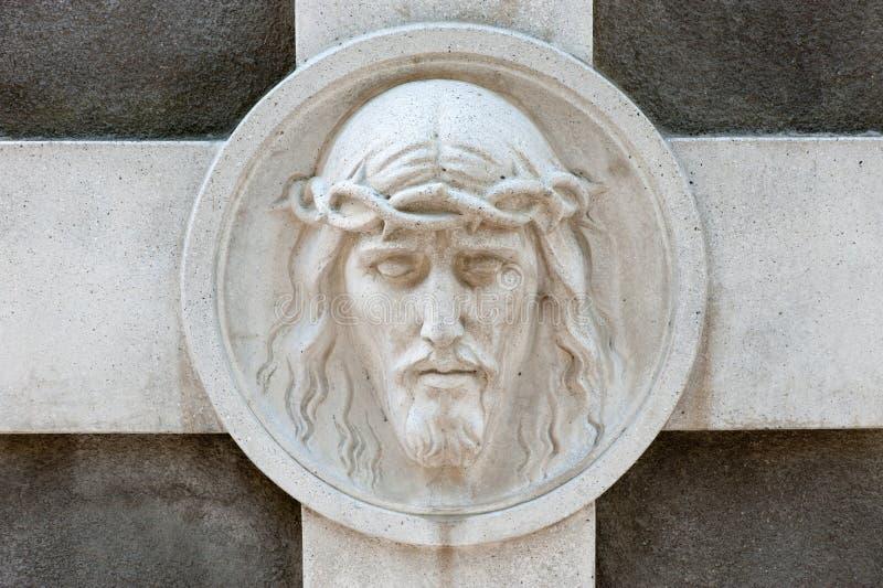 Denkmal zu Jesus lizenzfreie stockfotos