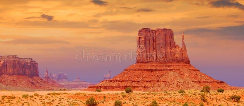 Denkmaltal, Utah lizenzfreies stockfoto
