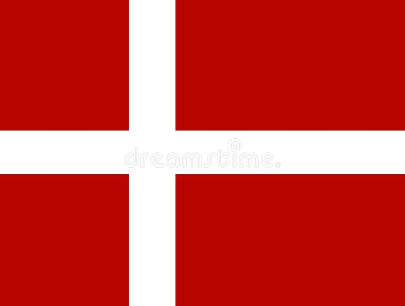Download Denmark stock vector. Image of countries, flag, scandanavian - 30934
