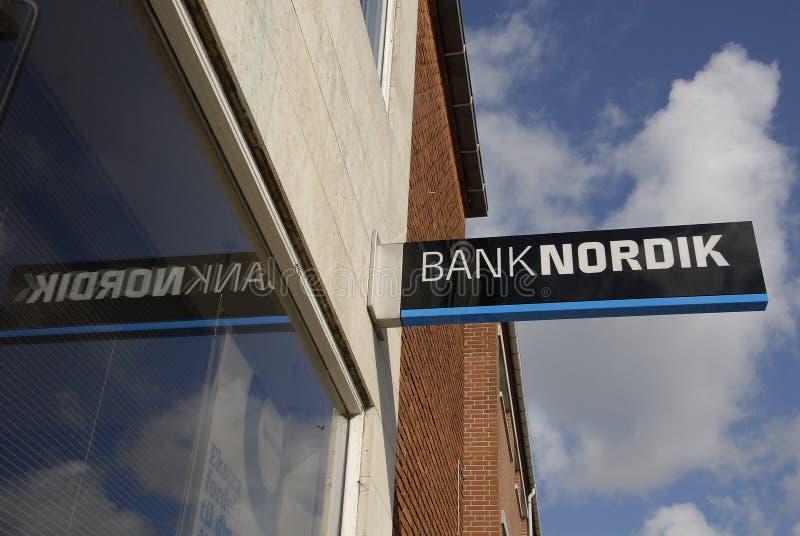 DENMARK_BANKNORDIK стоковые фото