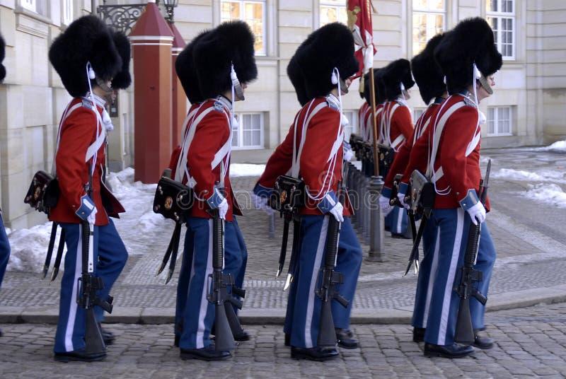 denmark chroni życie królewskiego zdjęcia stock