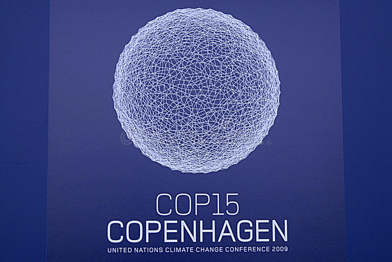 DENMARK-COP15 royalty free stock images