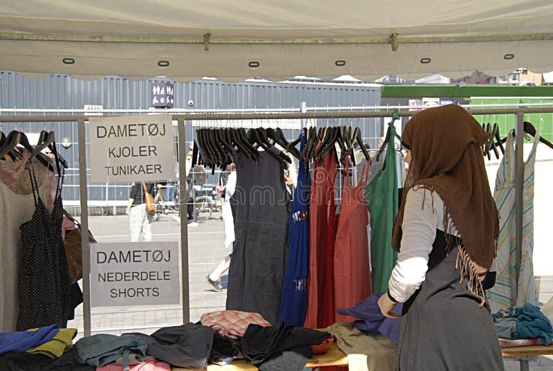 DENMARK_FASHION UITWISSELING stock foto's