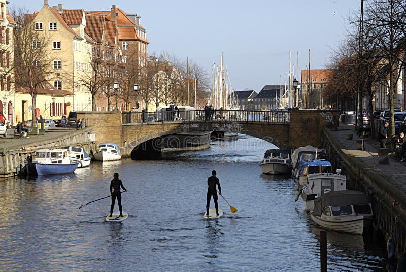 DENMARK_FIRST春日在哥本哈根 免版税库存照片