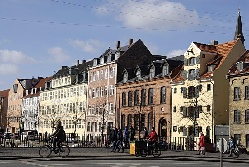DENMARK_FIRST春日在哥本哈根 免版税图库摄影