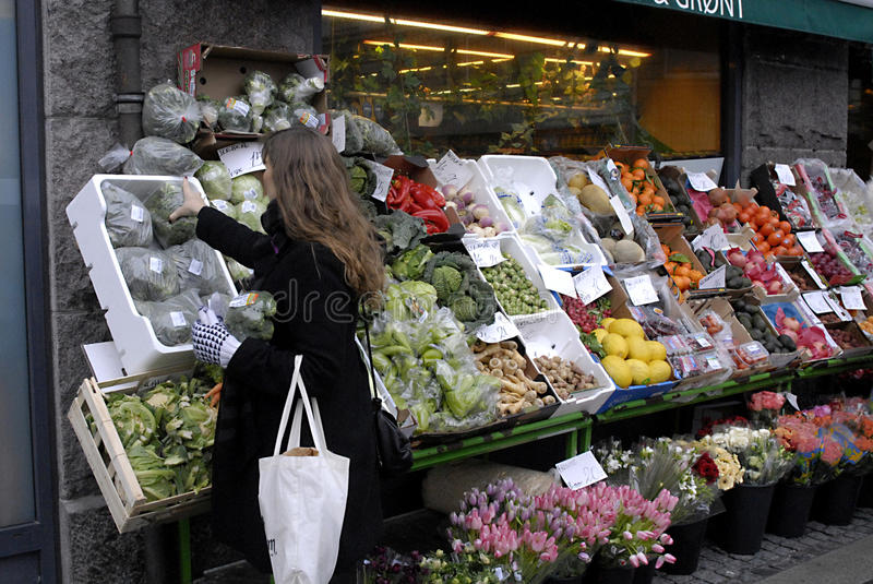 Download DENMARK_FOOD HIGH PRICES Editorial Image - Image: 17861595