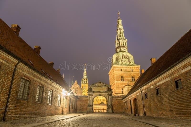 denmark pałac Frederiksborg Hillerod zdjęcie stock