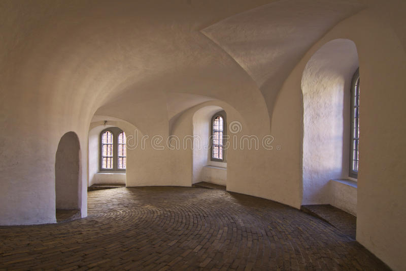 Denmark: Round Tower Of Copenhagen Stock Photo