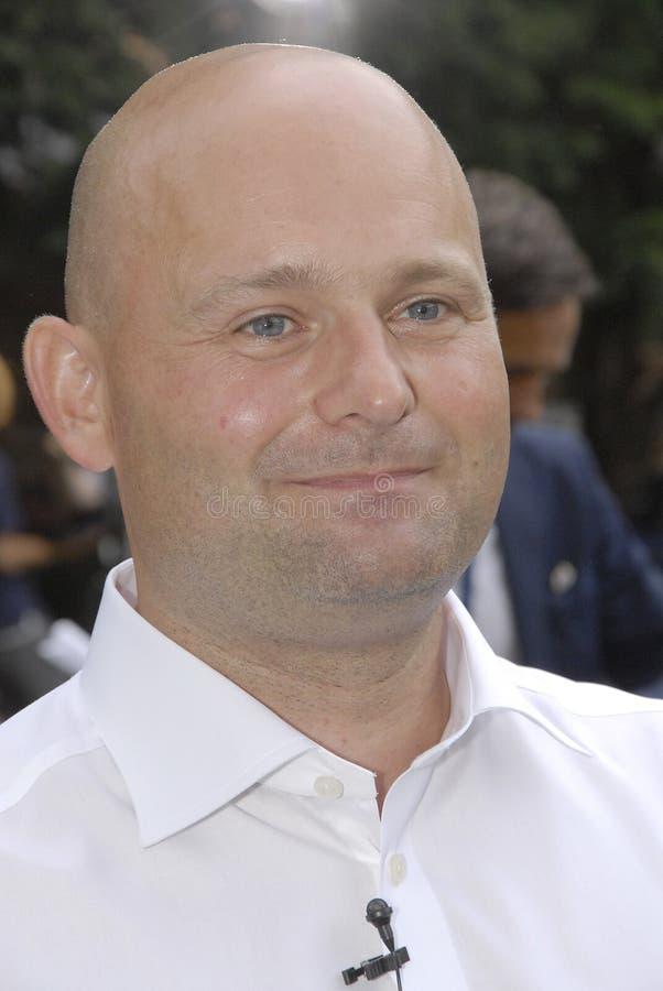DENMARK_S�REN PAPE POULSEN. COPENHAGEN /DENMARK- Soren Pape Poulsen(S�ren Pape Poulsen) new hand picked leader and chairman of danish conservative stock photo