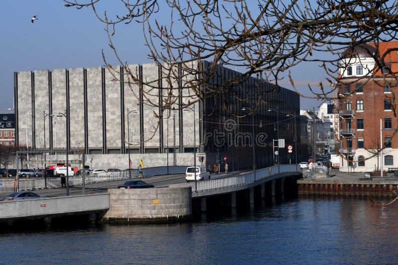 DENMARK`S NATIONAL BANK IN COPENHAGEN DENMARK. Copenhagen/Denmark. 18 .FEBUARY 2019. Denmark`s national bank in danish capital Copenhagen Denmark. Photo..Francis royalty free stock image