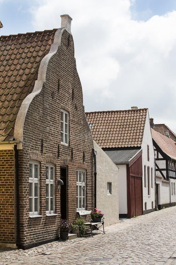 denmark tradycyjny domowy fotografia stock