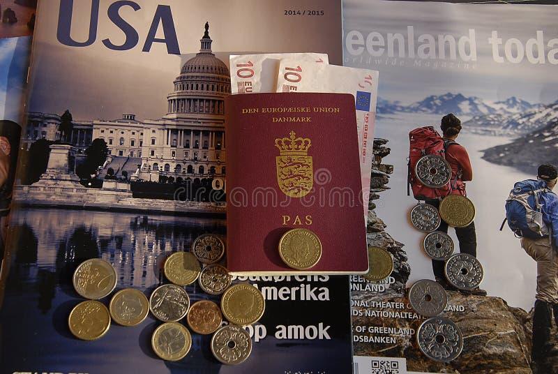 DENMARK_TRAVEL DECUMENTS royalty-vrije stock foto's