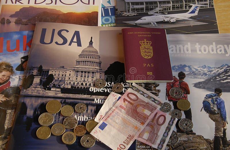 DENMARK_TRAVEL DECUMENTS royalty-vrije stock fotografie