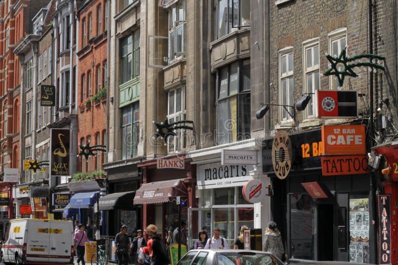 denmark ulica London zdjęcia royalty free