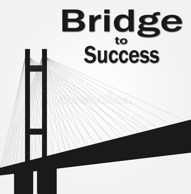 Denna är den enorma och långa bron royaltyfri foto