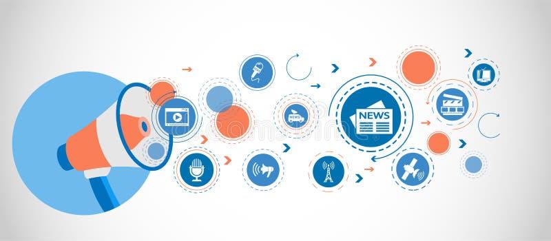 Denna är mappen av formatet EPS10 Detaljerade uppsättningsymboler av massmediabeståndsdelsymbolen Högvärdig kvalitets- grafisk de royaltyfri illustrationer