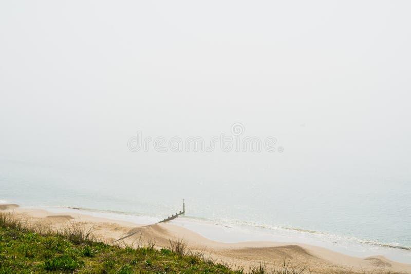 Denna mgła na ciepłym wiosna dniu zdjęcia stock