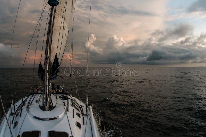 Denna podróż na żeglowanie statku zdjęcia royalty free