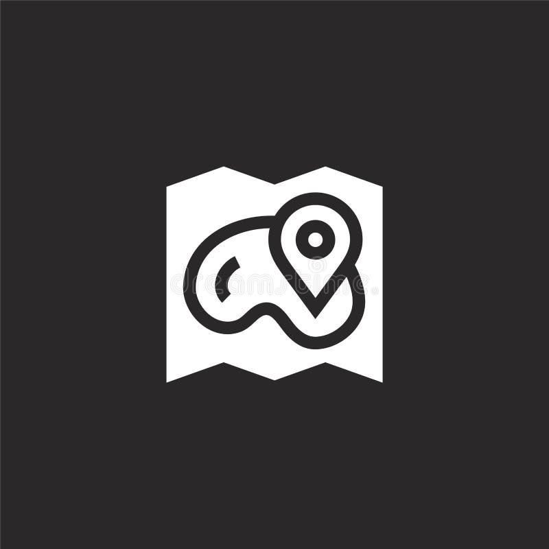 Denna ?r mappen av formatet EPS10 Fylld översiktssymbol för websitedesignen och mobilen, apputveckling översiktssymbolen från fyl vektor illustrationer