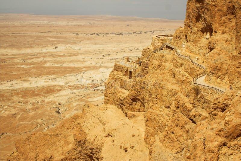 denne Israel nieżywe góry zdjęcie royalty free