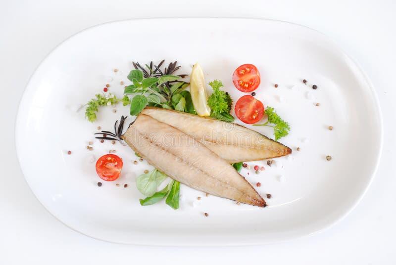 Dennego jedzenia fotografia odizolowywająca na bielu fotografia royalty free