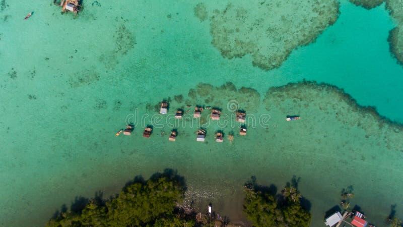 Denni gypsies Semporna Sabah fotografia stock