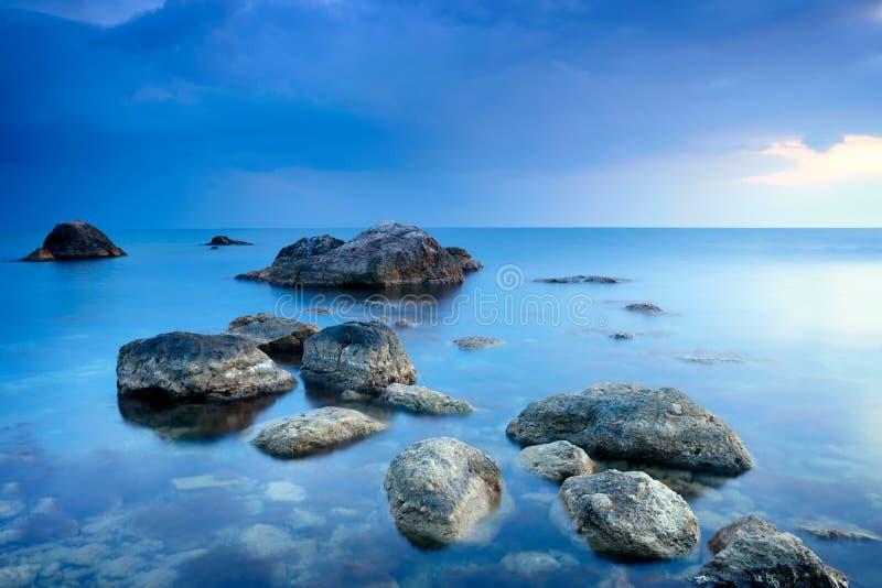 denni kamienie zdjęcie stock