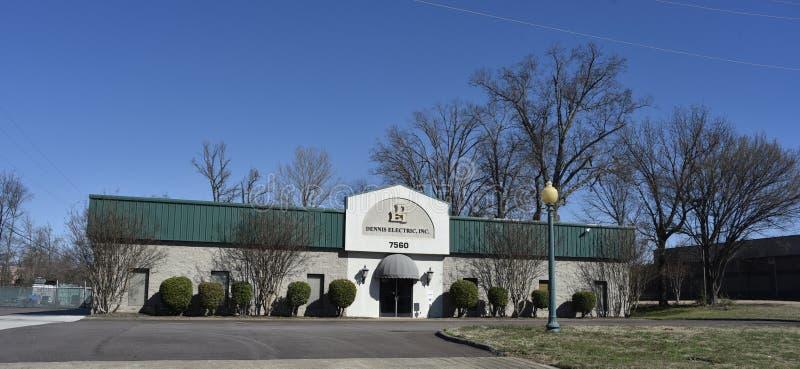 Dennis Electric Company, Memphis, TN photographie stock libre de droits